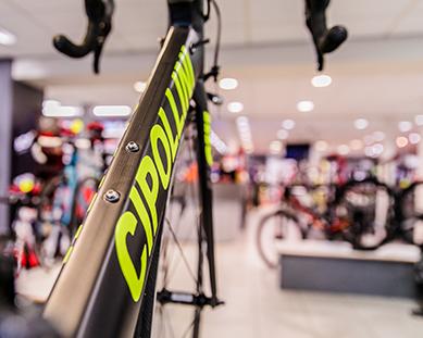 Jos Feron - Cipollini fiets